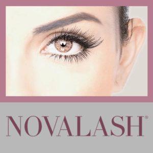 "Woman with Novalash Eyelash Extensions: ""Novalash"""