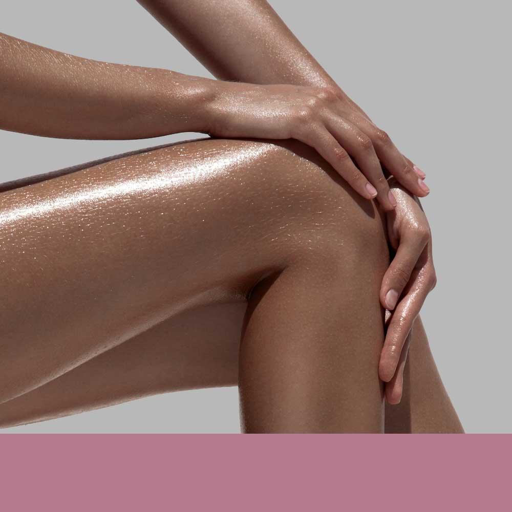 Women Bronzed Legs & Arms