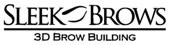 Sleek Brows 3D Brow Building logo